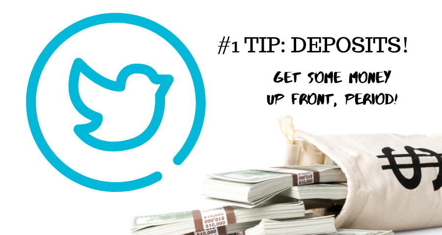 the number one tip for retweetgamesis be sure to get a deposit!