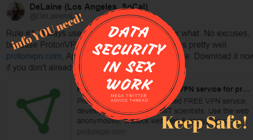 Data Security and safety for sex workers