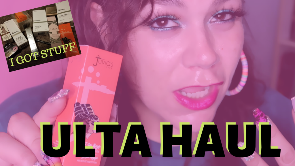 New ulta makeup haul video