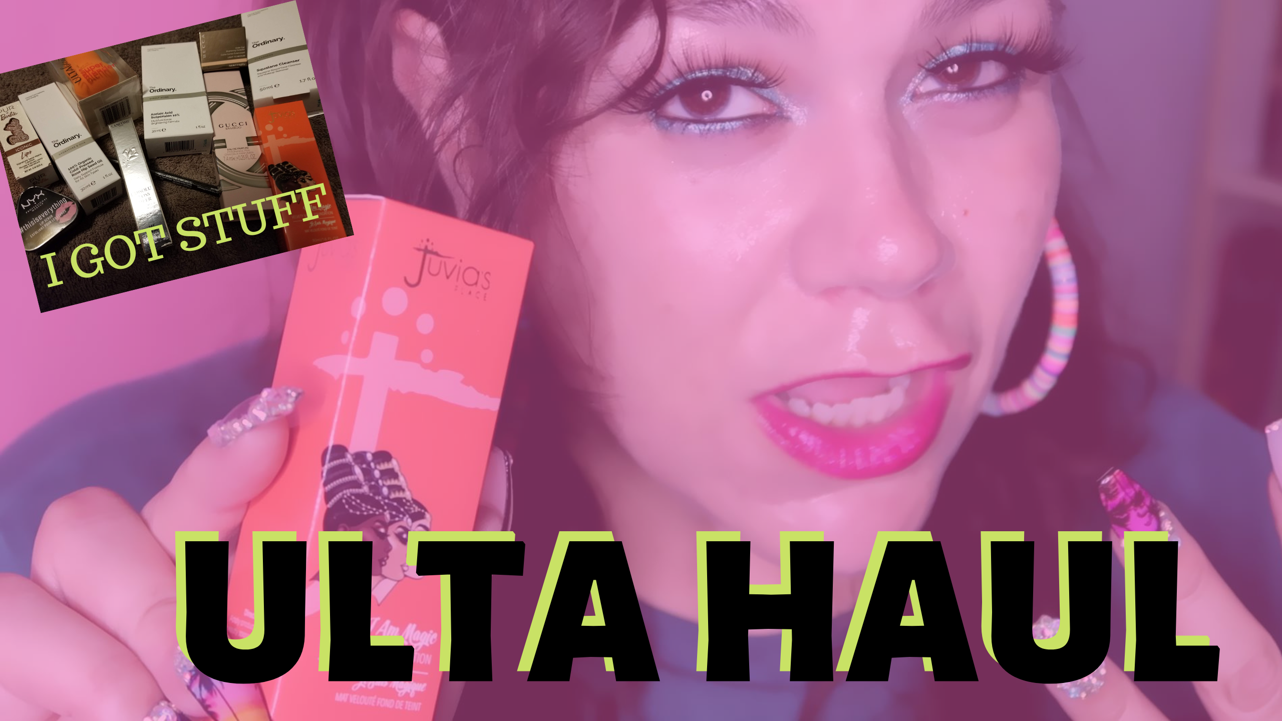 New ulta makeup haul video