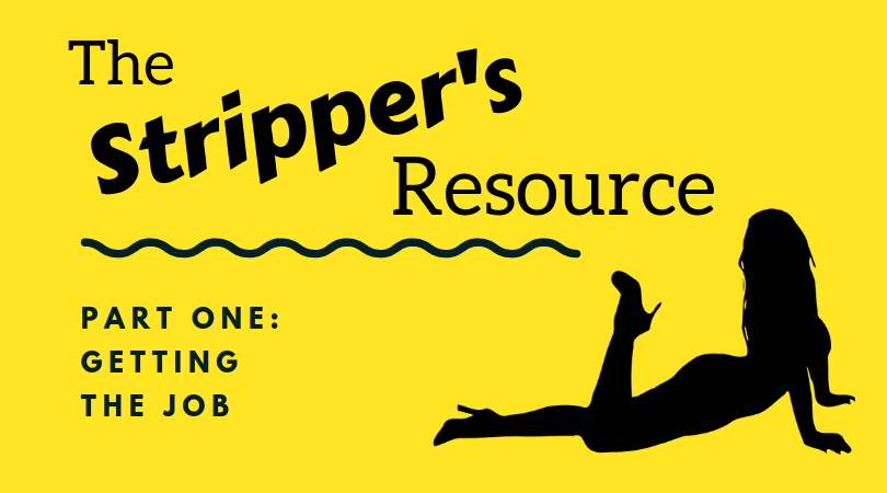 getting the job as a stripper