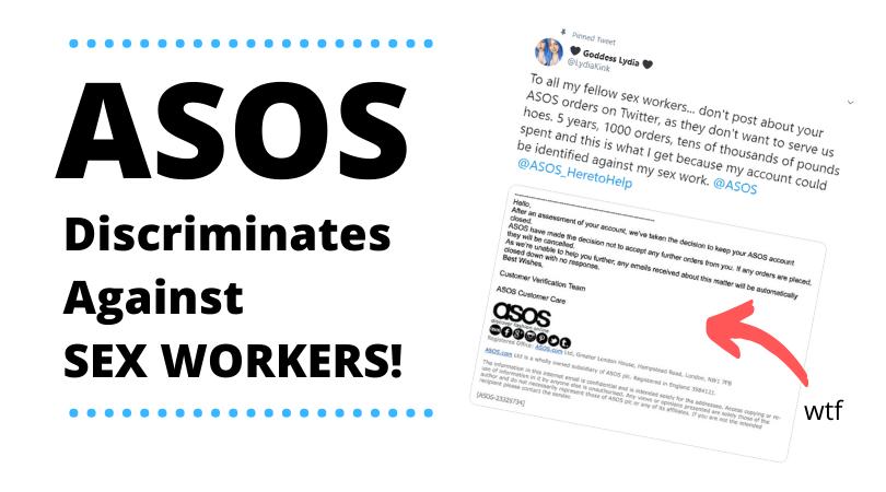 ASOS discriminates against sex workers