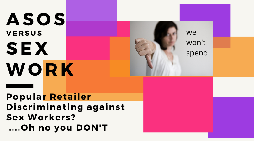 ASOS discriminated against a sex worker and close her account