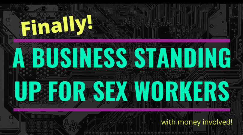 finally a business standing up for sex worker rights to use money services